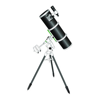 amateur telescope. The reflector of system of Newton