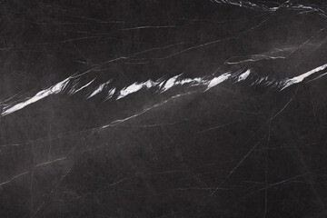 Natural marble background in adorable strict black colour.