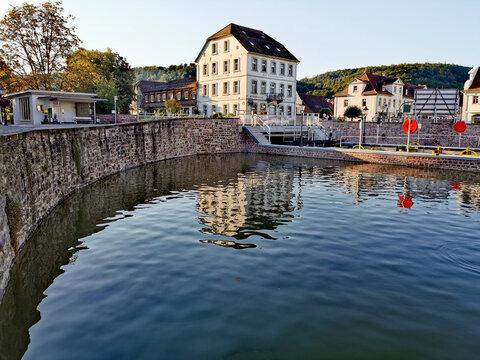 Bad Karlshafen, der Innenhafen