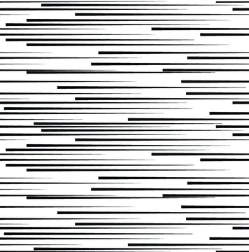 Seamless pattern with speed lines. Abstract Black Horizontal Striped repeating Background . Vector parallel  lines endless texture
