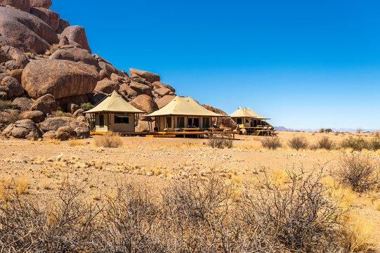 Tourist lodges in Namibrand Nature Reserve , Namibia