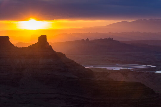 Dead Horse Point State Park during sunrise