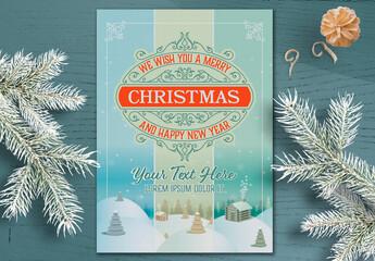 Winter Holidays Greeting Card