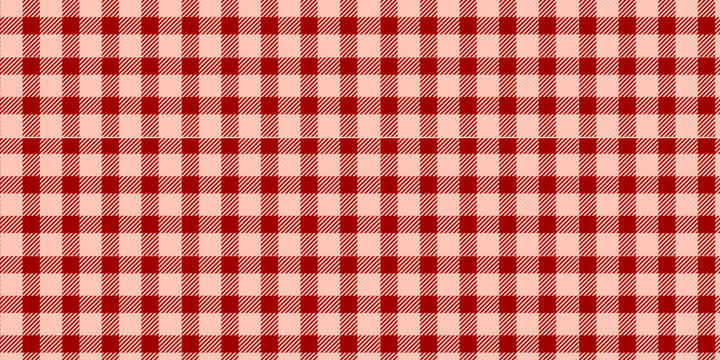 red and coral pink checkered pattern background