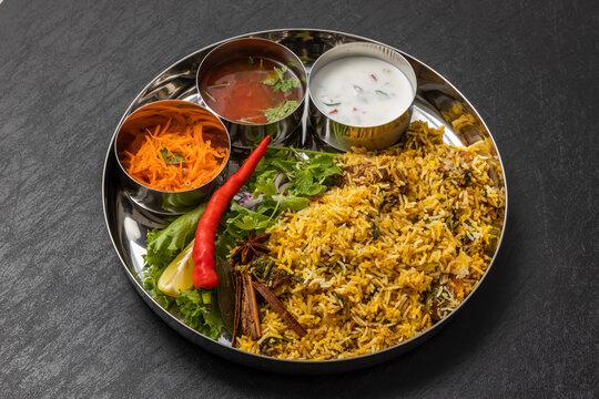インド料理 ビリヤニ Biryani is a typical Indian mixed rice