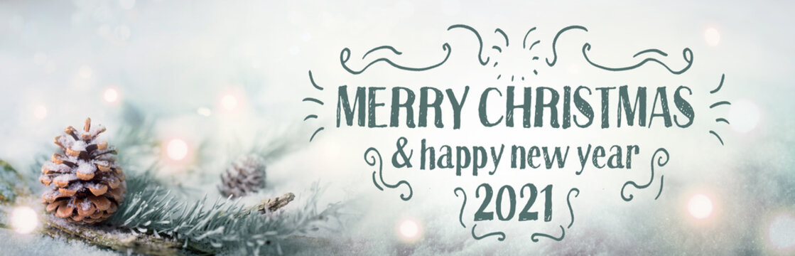 Merry Christmas & Happy New Year 2021 Banner Images 4 091 Best Christmas Greeting Card Images Stock Photos Vectors Adobe Stock