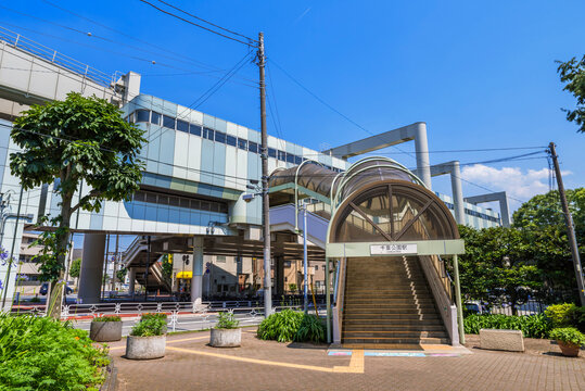 千葉モノレール「千葉公園」駅
