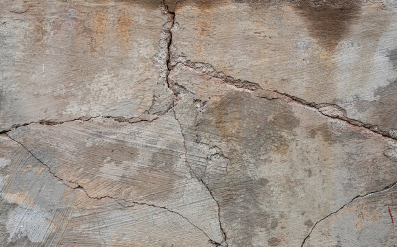 Cracked foundations and sidewalks or driveways in need of foundation or driveway concrete repair