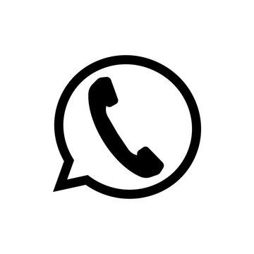 speech icon. One of set web icon