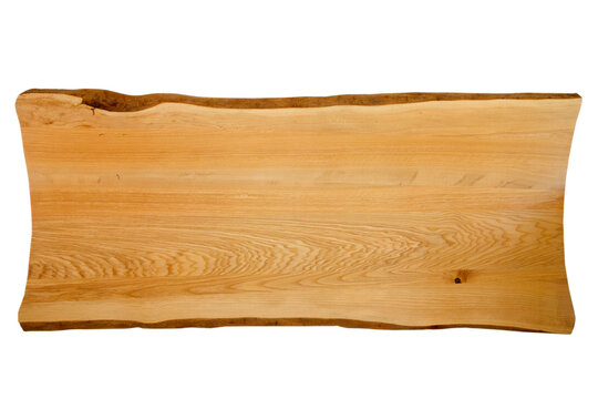 Exclusive home table, solid wood slab, wood texture background.