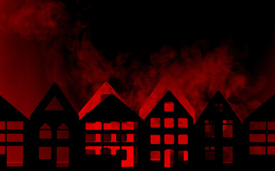 Housing in City in Flames