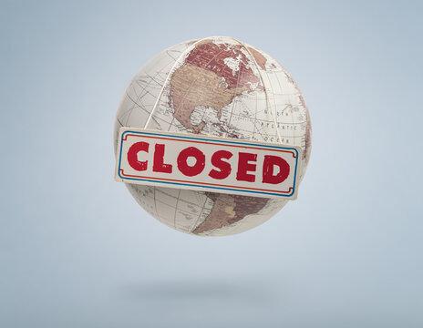 Global business closure