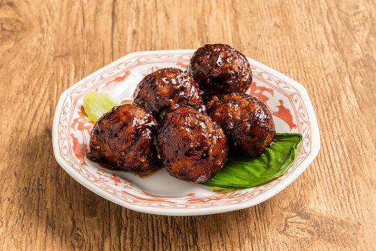 中華肉だんご Chinese meat dumplings