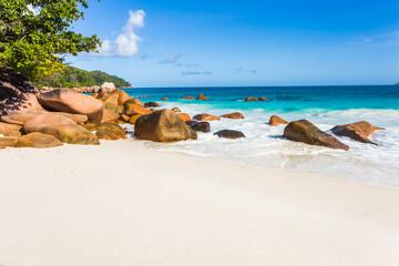 Anse Lazio, Praslin, les Seychelles