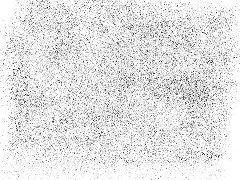 A black and white vector texture of a distressed rolled ink print. Ideal as a background or for adding texture. The vector file has a background fill and a texture layer for easy color scheme changes.