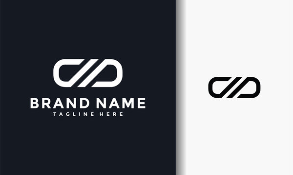 abstract infinity logo