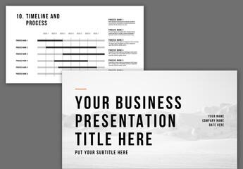 Presentation Business Layout