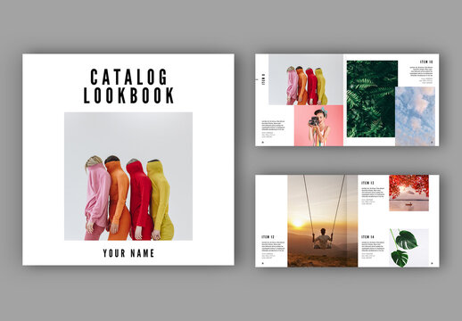 Catalog Lookbook Layout