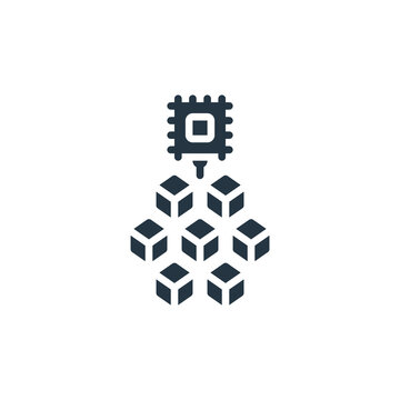 control unit icon. Glyph control unit icon for website design and mobile, app development, print. control unit icon from filled microservices collection isolated on white background..