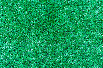 View of a green football field