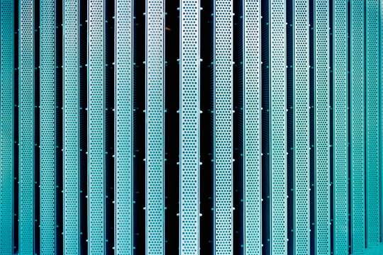 Blue metal wall texture background