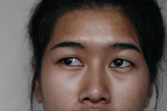 Closeup of a Thai Woman
