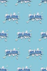 """SPLASH"""""""" Pattern design"""