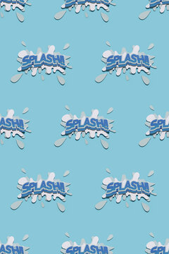"SPLASH"""" Pattern design"