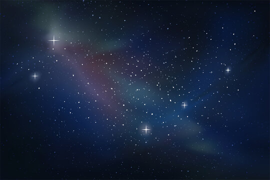 Creative design of space background