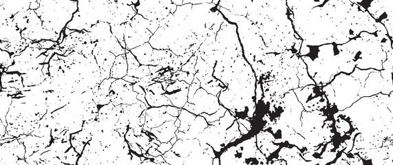 Distressed Grunge Texture. Seamless Pattern. Fotobehang