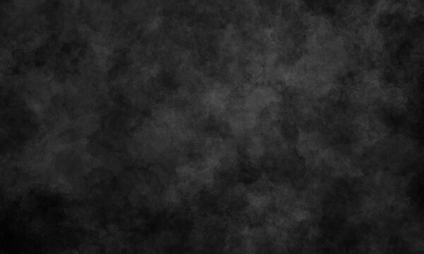 lack grunge simple smooth background with gray tint. Dark textured background for banners, brochures, web