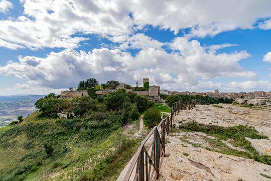 Rocca di Cerere in Enna Sicily, Italy.
