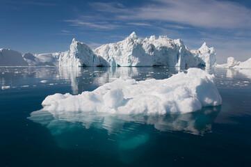 Underwater Icebergs, Ililussat, Greenland