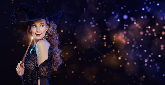 playful pretty witch