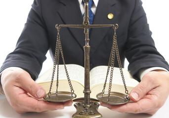 弁護士 天秤と六法全書