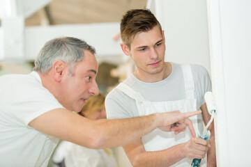 portrait of a male paint apprentice