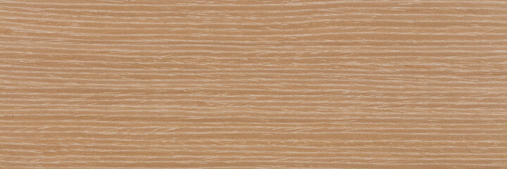Awesome light beige oak veneer background. Natural wood texture, pattern of a long veneer sheet, plank.