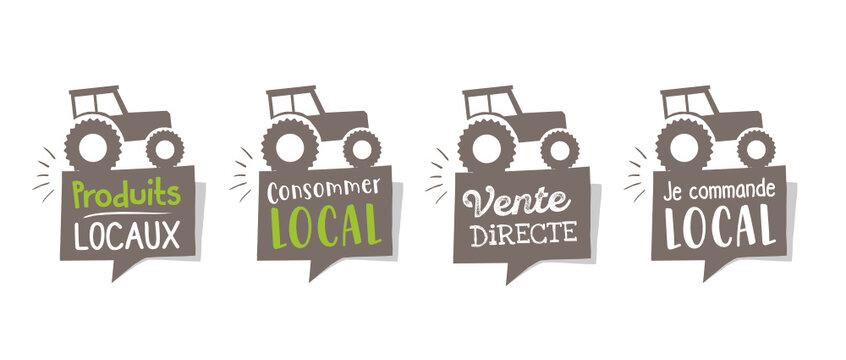 Consommer local, produits locaux, circuit court