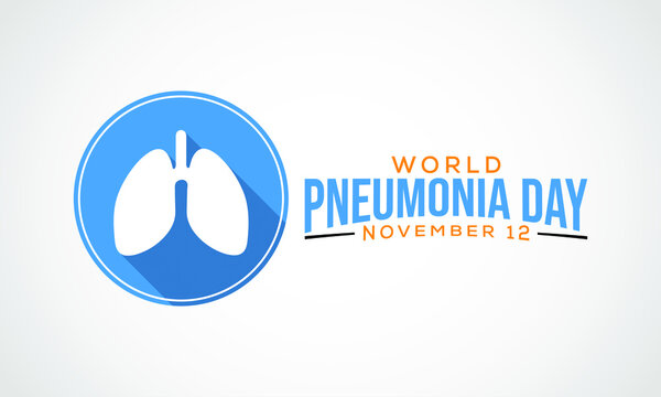 World Pneumonia Day provides an annual forum for the world to stand together and demand action in the fight against pneumonia observed each year on November 12th across the globe. Vector illustration.