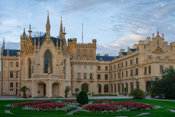 Lednice Castle - One of the finest examples of landscape architecture in Europe
