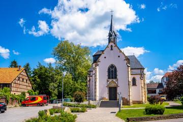 Kirche in Wanfried, Hessen, Deutschland