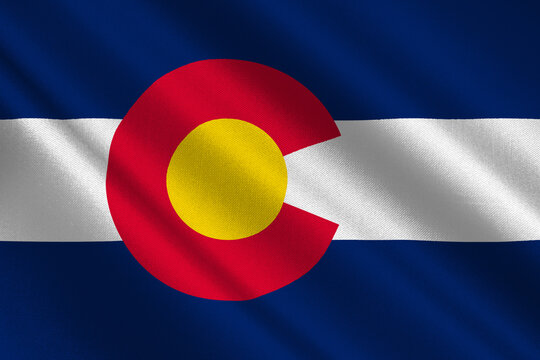 Flag of Colorado, USA
