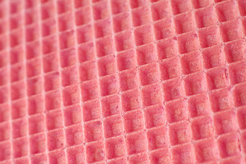 Pink wafer surface