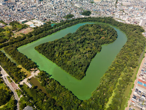 Mozu-Furuichi Kofun Group(48MP High Resolution Aerial View).