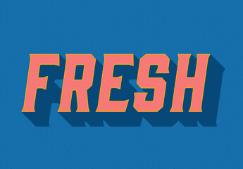 Colourful Text Effect