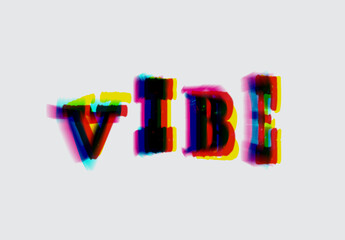 Glitch Style Text Effect