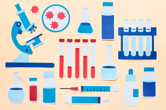Various lab supplies for research
