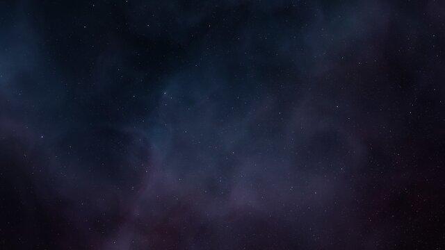 alien planet in space, science fiction landscape, 3d render