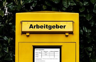 Arbeitgeber Briefkasten