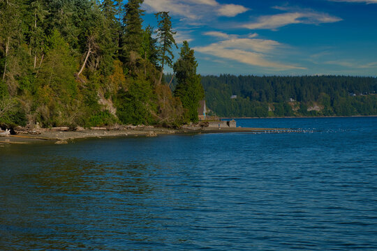 2020-09-15 THE SHORELINE AND PUGET SOUND OFF OF WHIDBEY ISLAND